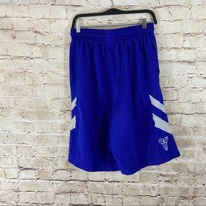 Nike dry fit blue shorts no slip waist size large